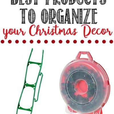 Christmas Decor Organization