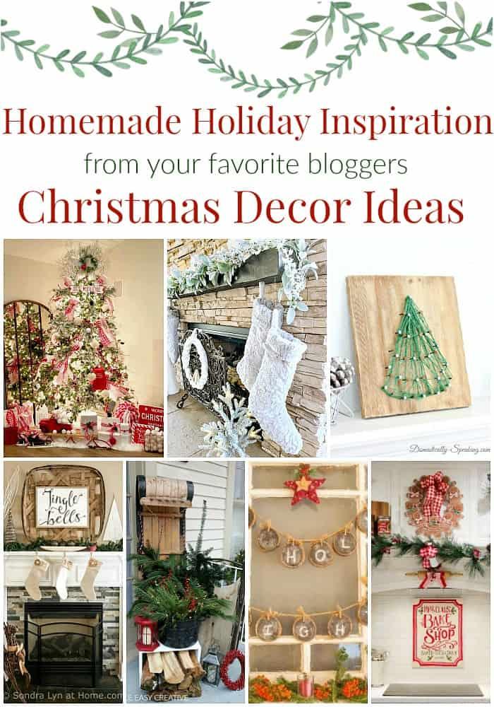 Homemade Christmas Decor Ideas