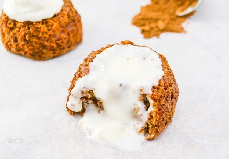 Mini Carrot Cakes with Cream Cheese Icing