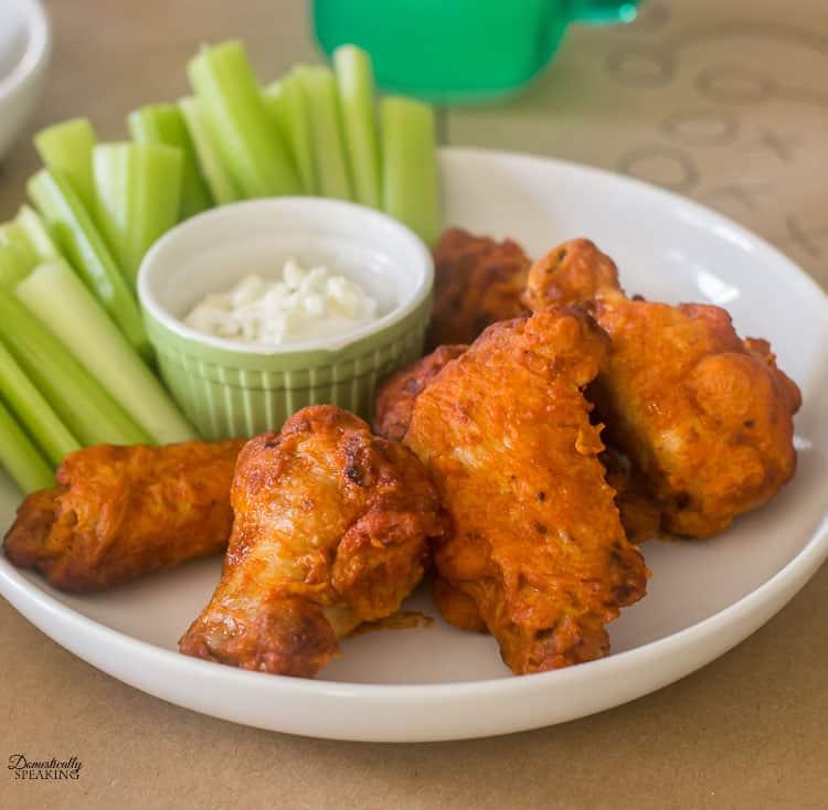 Hot Wings Appetizer