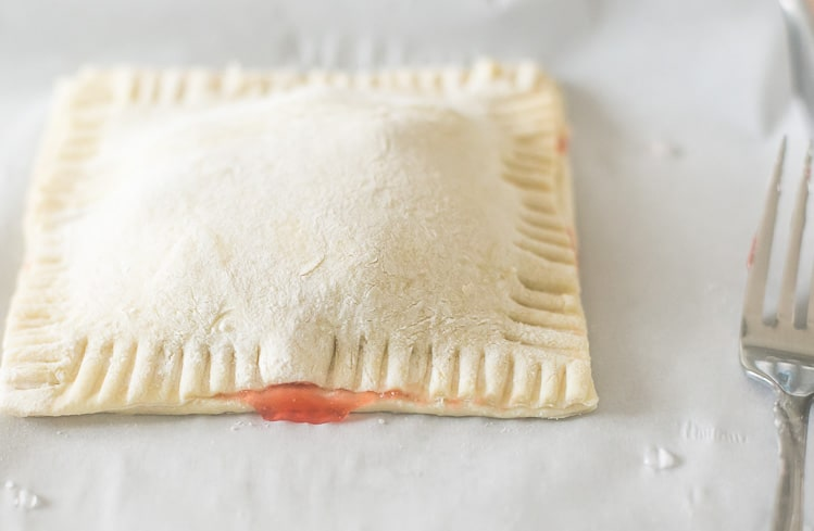 These are the easiest Cherry Turnovers!!!  Assembling your cherry turnovers.