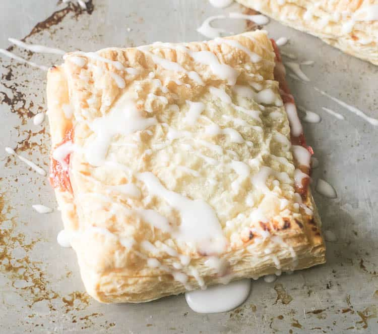 These are the easiest Cherry Turnovers!!!