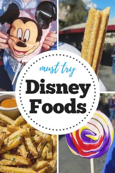 Must Try Disney Foods
