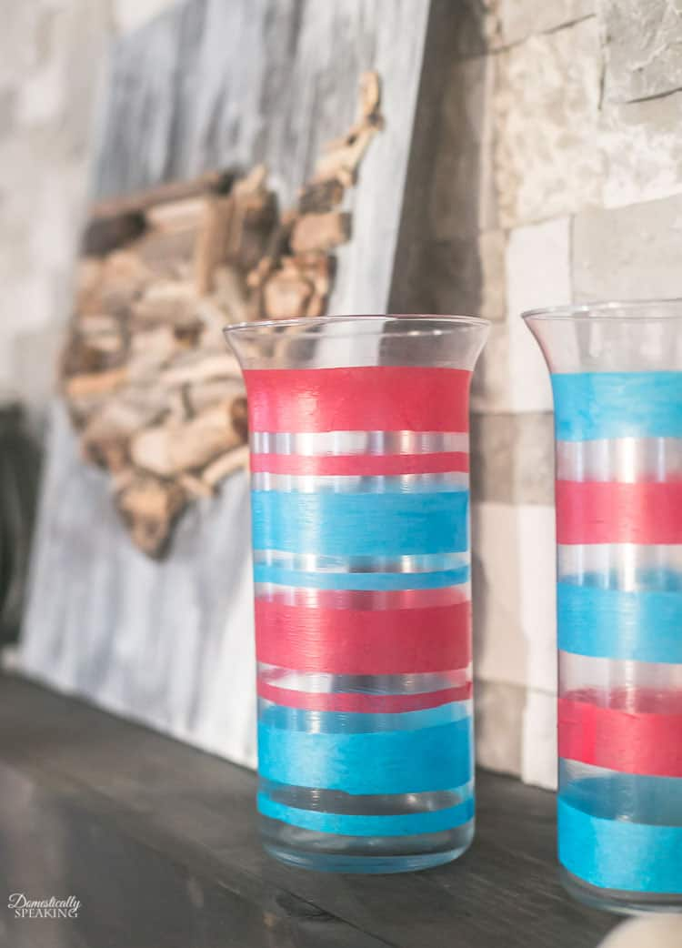 Easy Patriotic Decorations Domestically Speaking