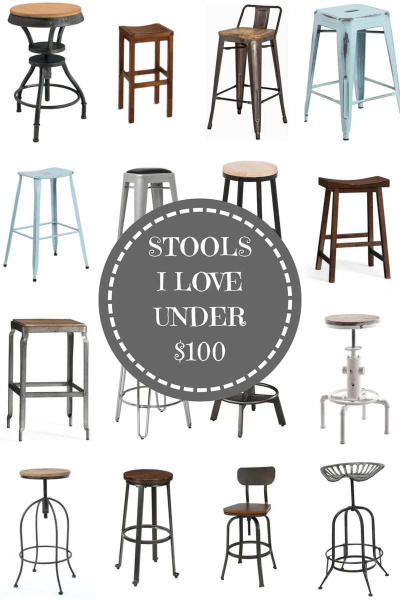 Bar Stools Under $100