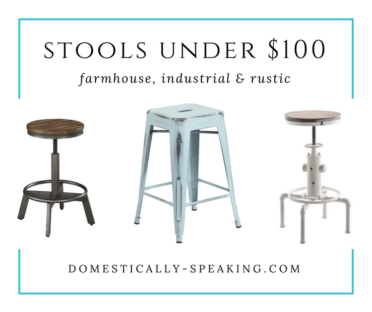 These are my favorite Bar Stools Under $100