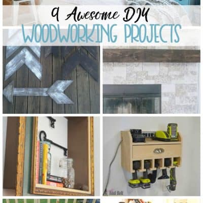 9 DIY Woodworking Projects