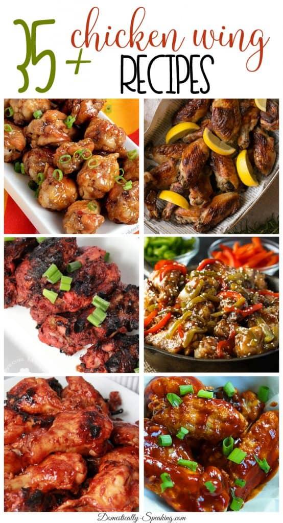 35 Chicken Wing Recipes