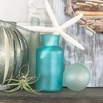 Beachy DIY Sea Glass Decor