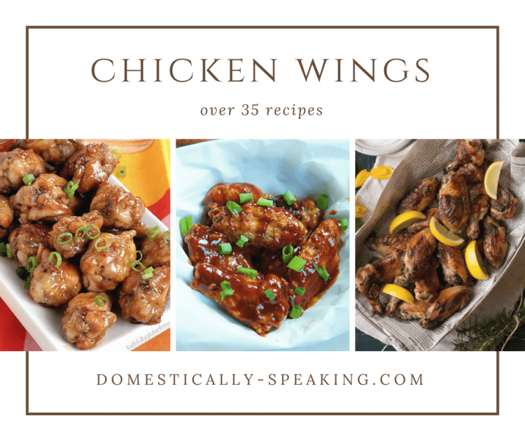 Over 35 Chicken Wing Recipes