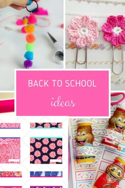 Creative Back To School Ideas at Inspire Me Monday #229