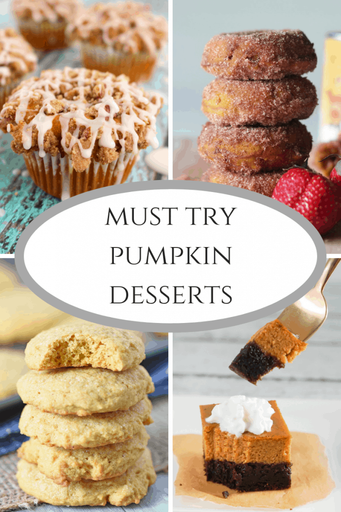 Must try Pumpkin Desserts are one of the amazing features at this week's Inspire Me Monday linky party. Come check out these pumpkin treats!