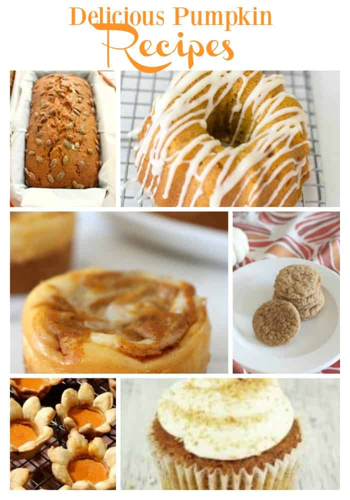 Delicious Pumpkin Recipes that are perfect for fall!