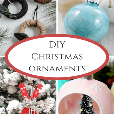 DIY Christmas Ornaments at IMM #244