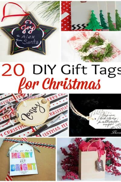 DIY Christmas Gift Tags