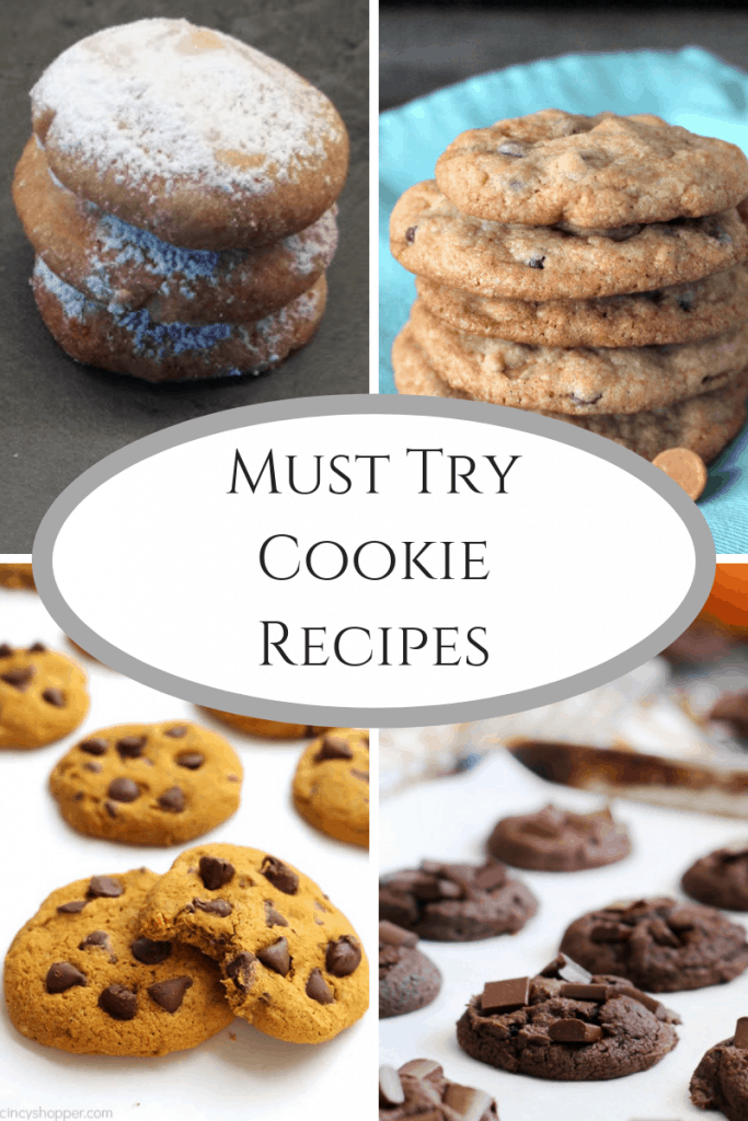Must Try Cookie Recipes! Great cookies for parties & cookie exchanges.