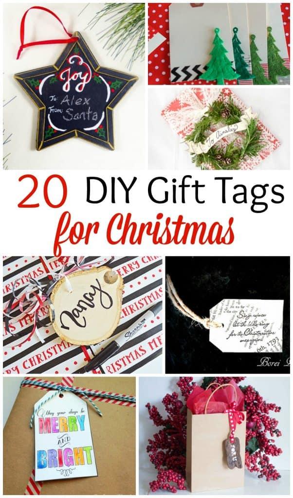20 DIY Gift Tags for Christmas