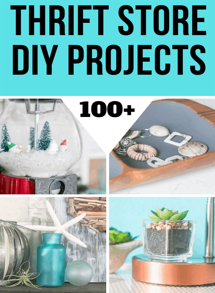 Top Thrift Store DIY Projects