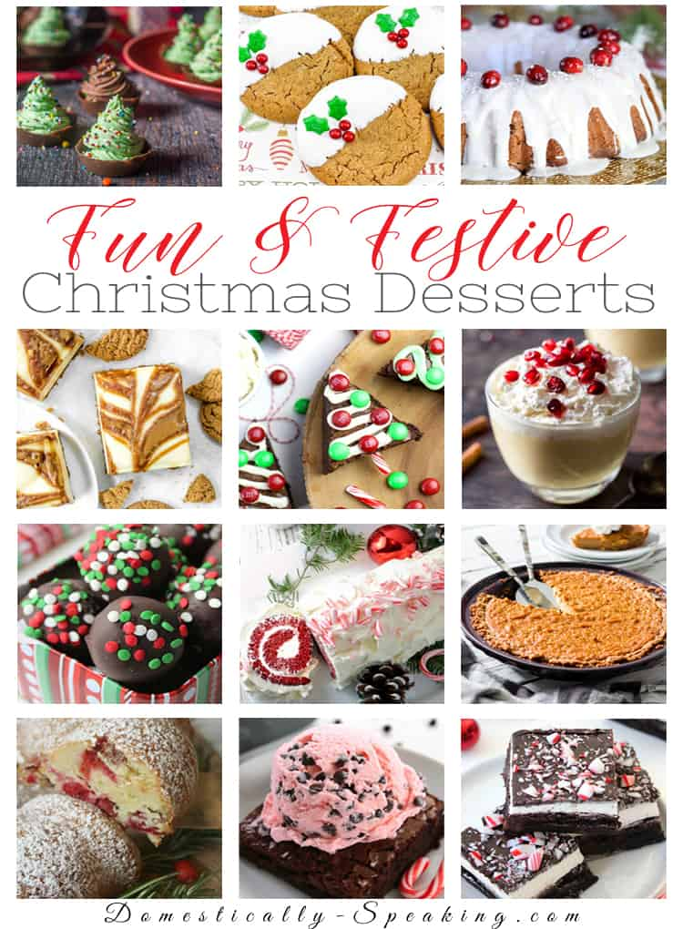Christmas Dessert Recipes