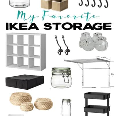 My Favorite IKEA Storage Products