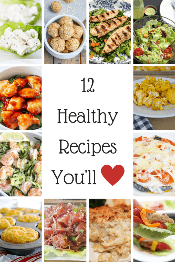 Low Carb and Low Calorie Recipes for the New Year! These are healthy recipes that you will love!