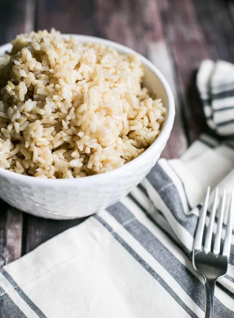 Instant Pot Brown Rice Recipe