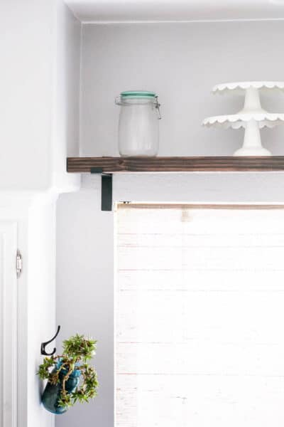 Chunky Farmhouse Industrial Shelf