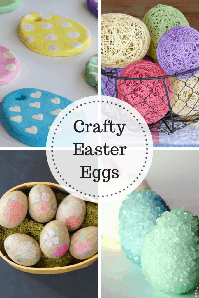 Crafty Easter Eggs