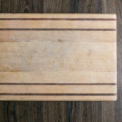 DIY Striped Serving Tray