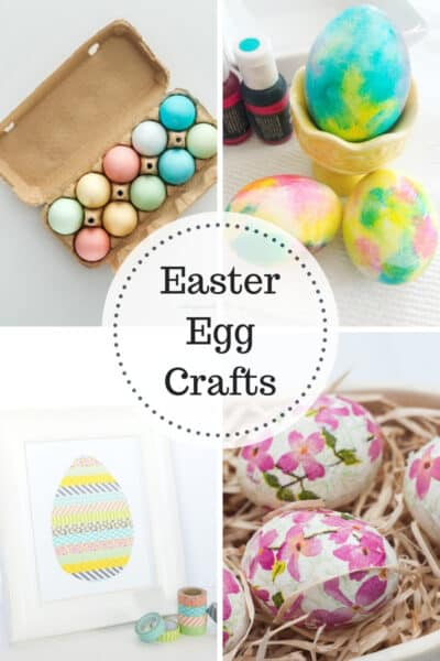 4 Easter Egg Crafts