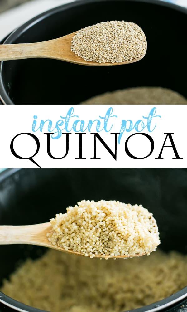 instant pot quinoa pinterest image