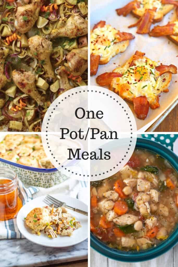 One Pot / Pan Meals that you can make so easy!