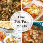 4 one pan meals