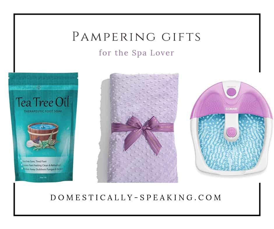 Pampering Gifts for the Spa Lover