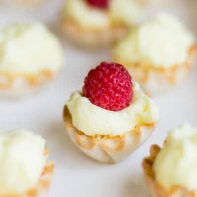 Grandma's Lemon Sour Cream Tarts