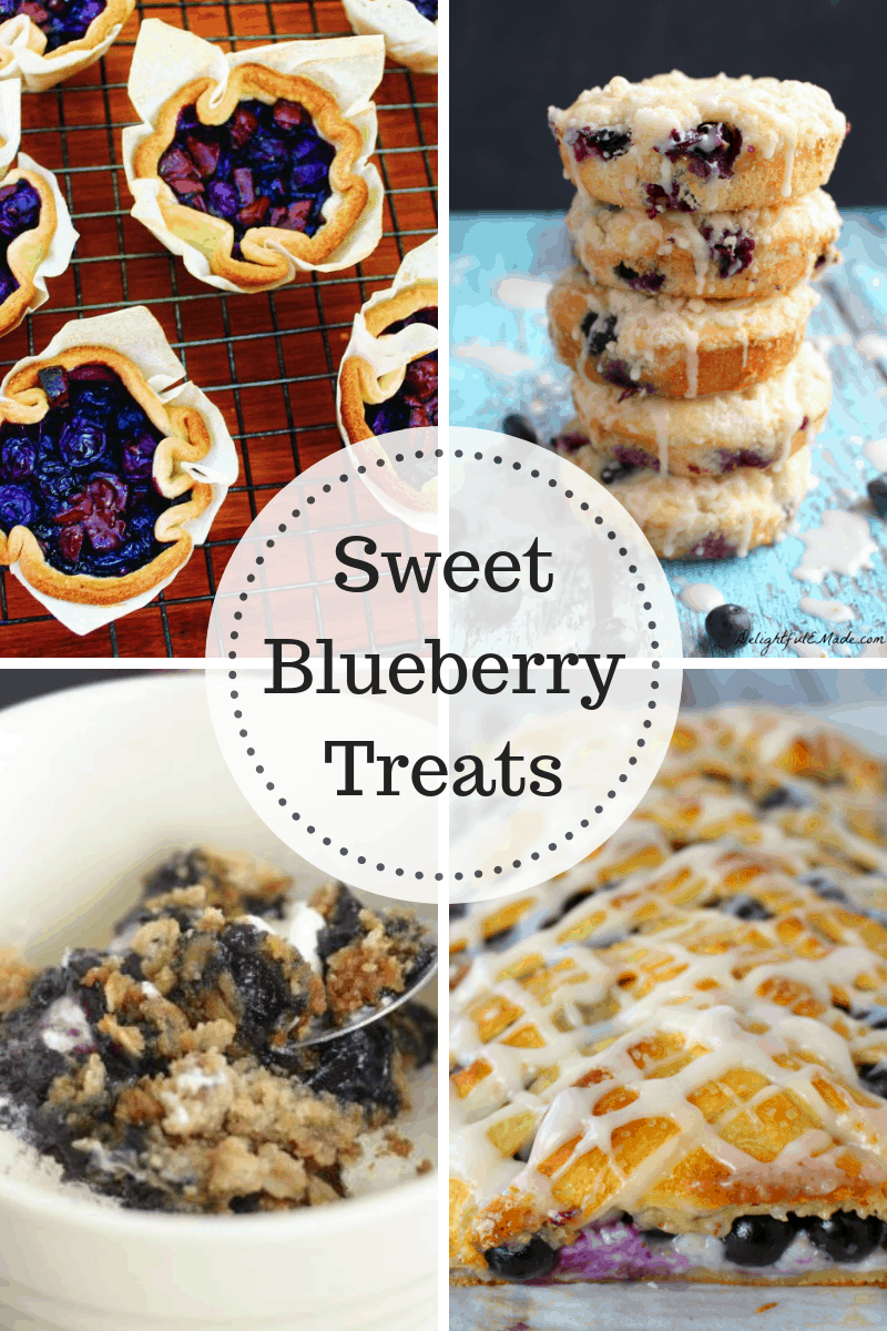 Sweet Blueberry Treats at IMM