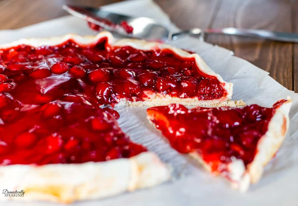 Cherry Cream Cheese Galette