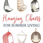 Fun Hanging Chairs for your outdoor spaces!