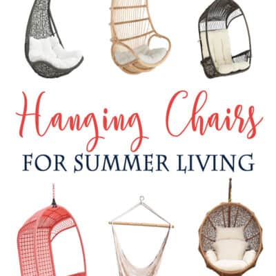 The Cutest Hanging Chairs