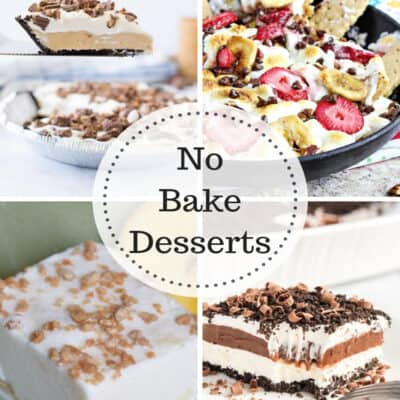 No Bake Desserts at IMM