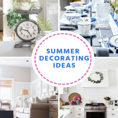 Summer Decorating Ideas at IMM
