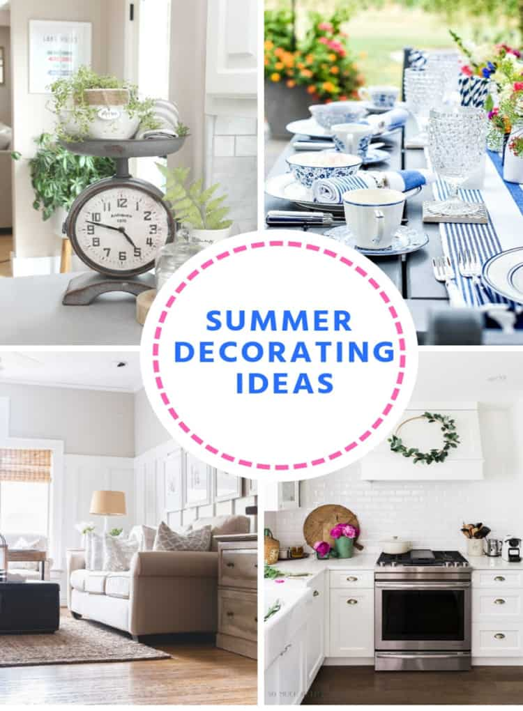 Summer Decorating Ideas at IMM