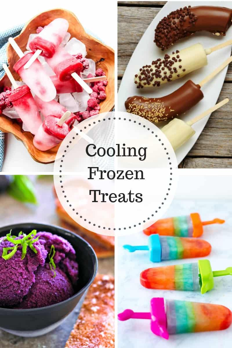 Cooling Frozen Treats to enjoy during the summer heat!