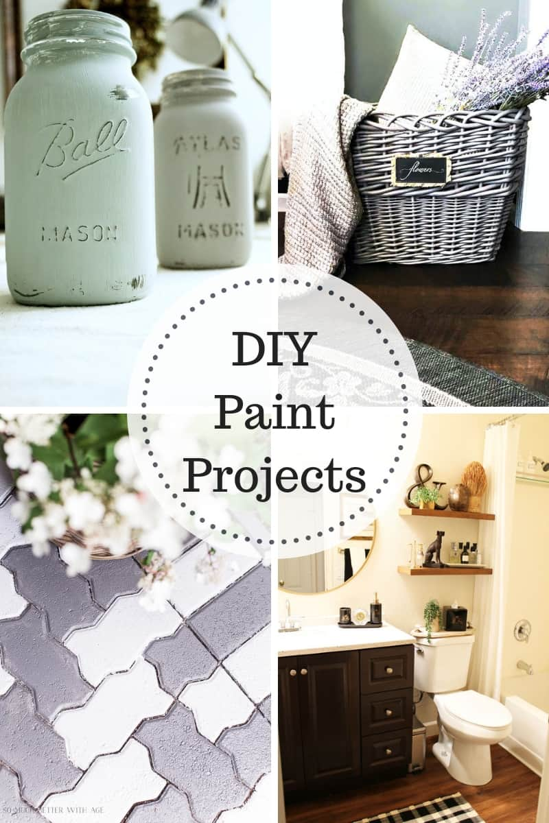 DIY Paint Transformations! Amazing makeovers completely transformed through the power of paint!