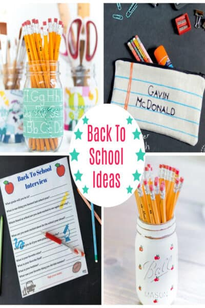 Back to School Ideas - cute crafts for fall