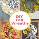 Beautiful DIY Fall Wreaths