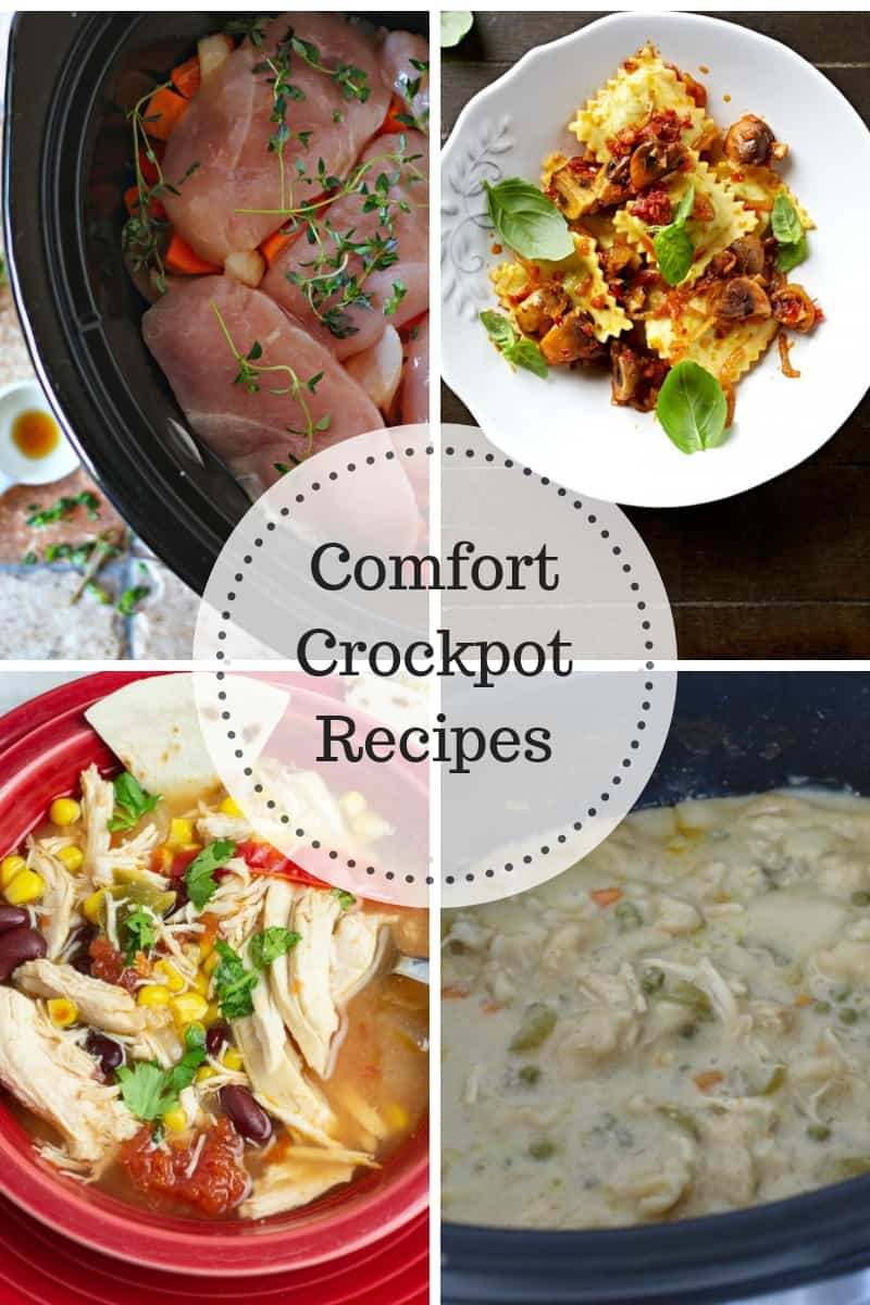 Comfort Crockpot Recipes that are perfect for the busy fall season & delicious on a chilly night!