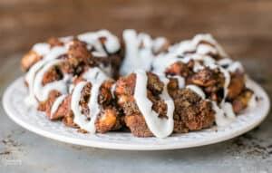 Easy Pumpkin Spice Monkey Bread recipe