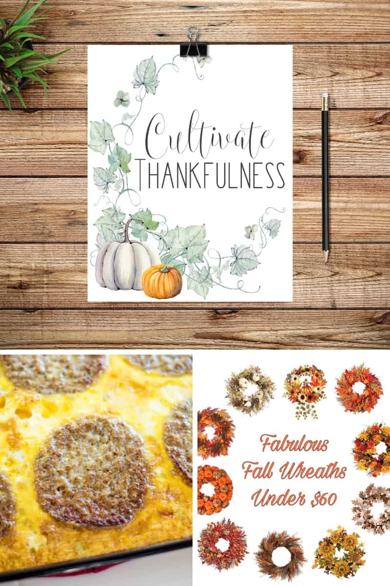 Cultivate Thankfulness Printable, Protein Breakfast Casserole, Fall Wreaths