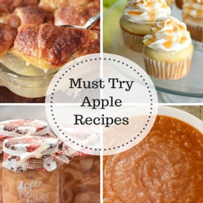 Must Try Apple Recipes